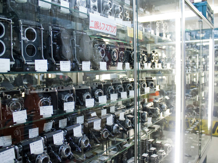 新宿中古カメラ市場