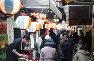 Kichijoji Harmonica Yokocho Morning Market