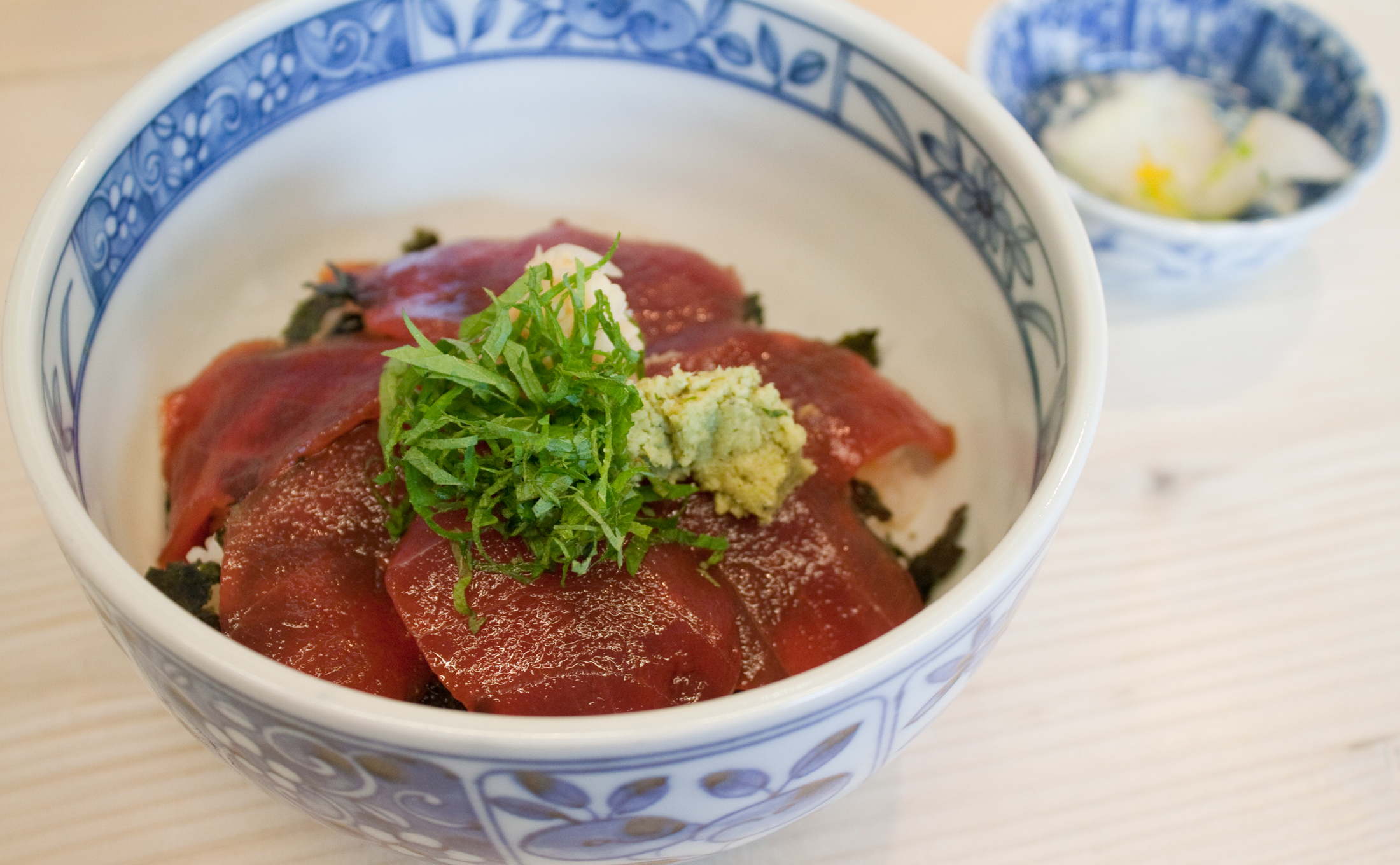 Tuna Bowl at Segawa