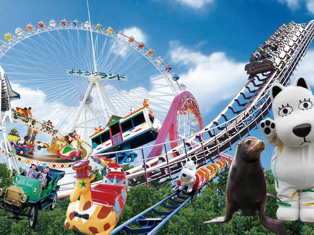 よみうりランド遊園地 開園50周年 入園無料デー