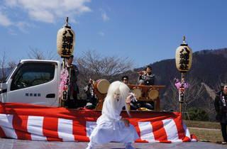 Okutama Cemetery Sakura Festival