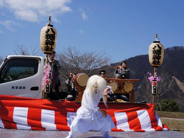 第8回奥多摩霊園 さくら祭り