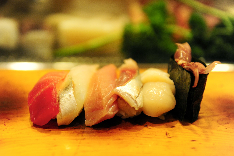 Fill up on bargain sushi at Isamizushi