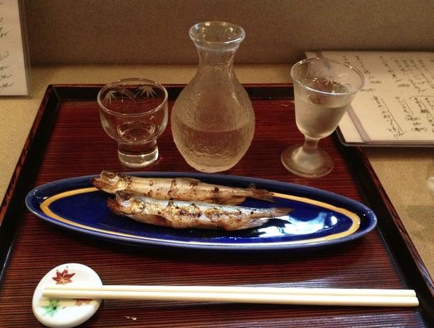 Sample superb sake at Manaita