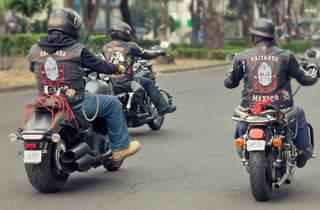 Caifanes Moto Club México (Foto: Alejandra Carbajal)