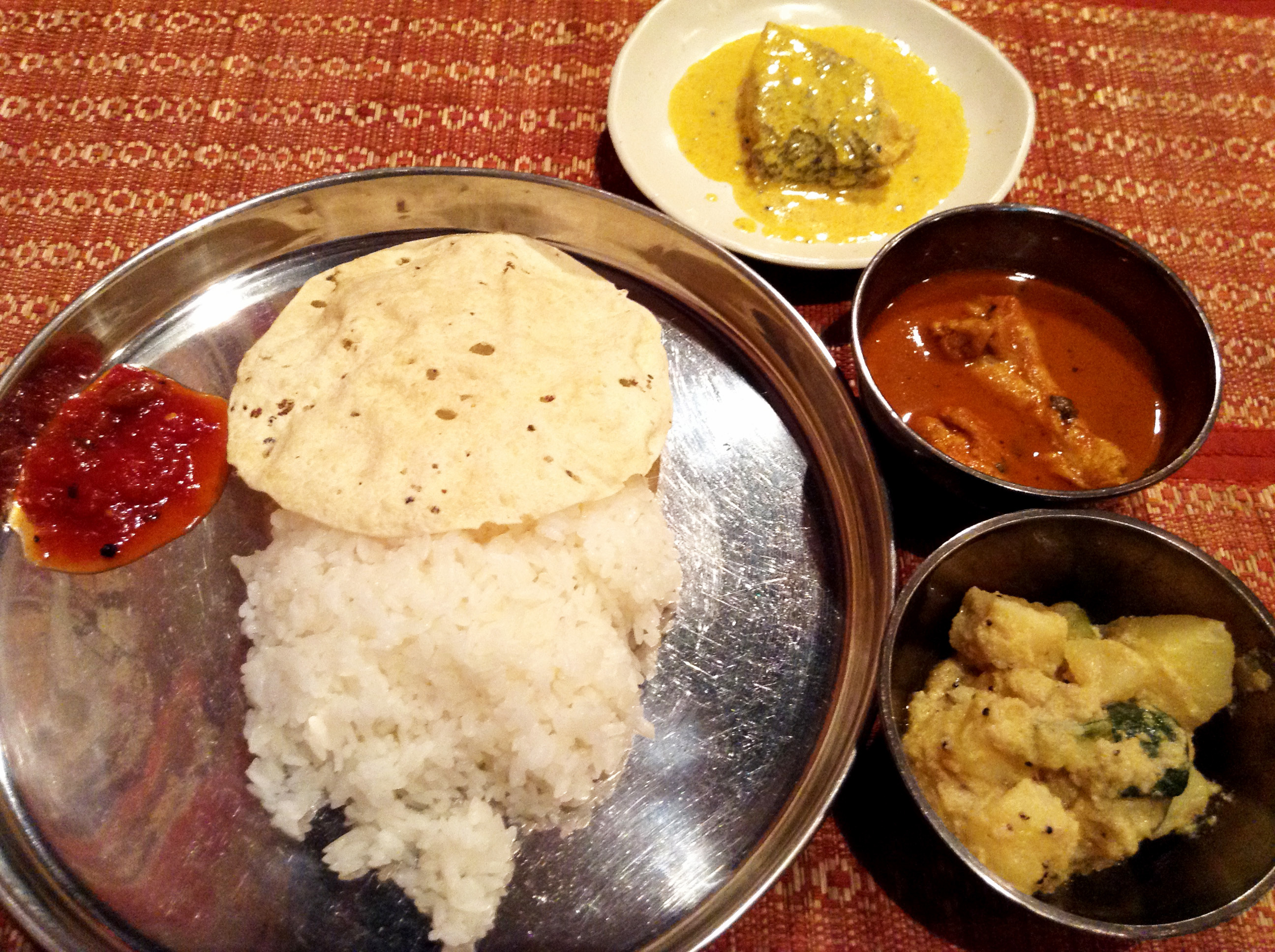 Lunch like a Bengali at Puja