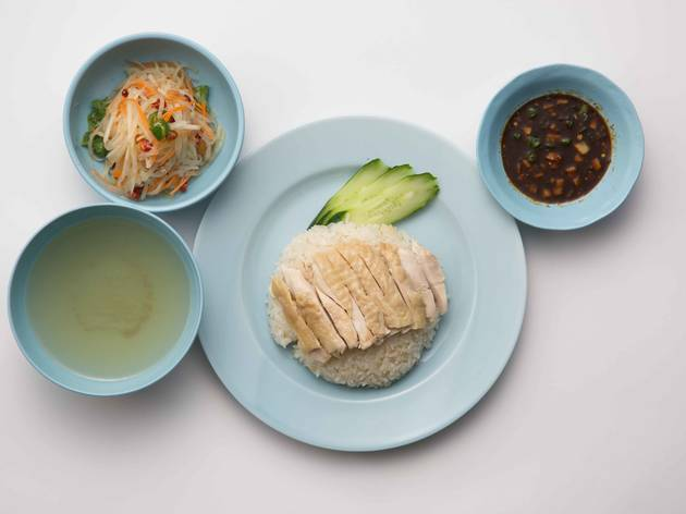 Hottest Thai-style chicken rice: Kaithong