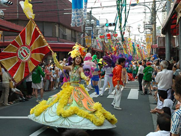 としま七夕祭り(2014)