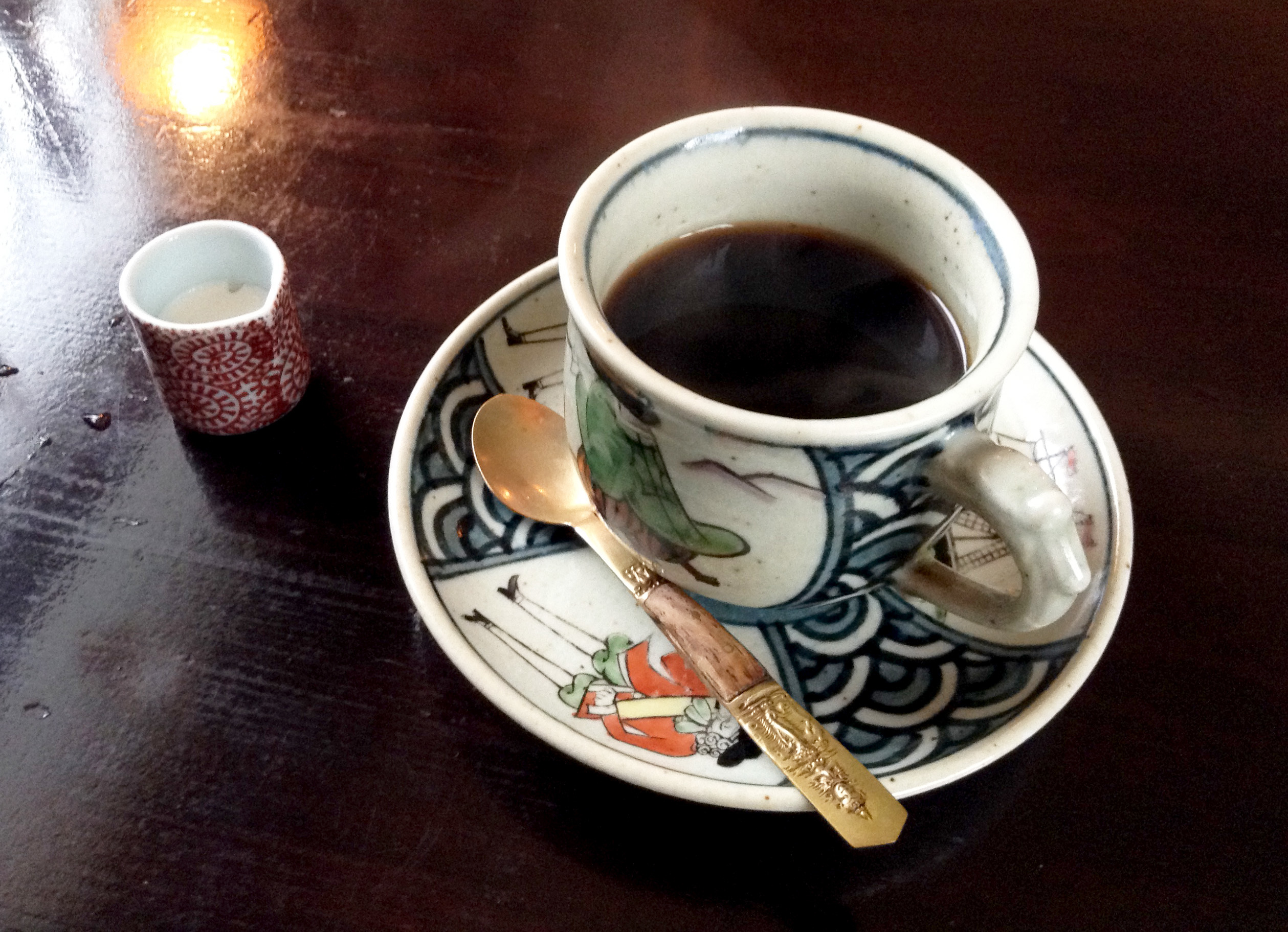Step back in time with classical coffee...