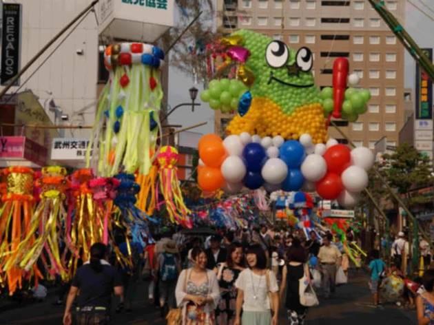 第64回 福生七夕まつり(2014)