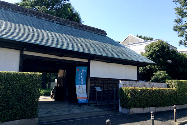 Hide in an old house at the Suginami Historical Museum