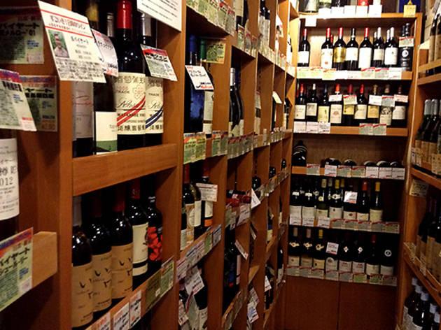 Shop for alcoholic rarities at Yamazakiya
