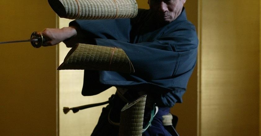 Be a swordsman...