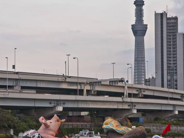 隅田川夕日見 2014
