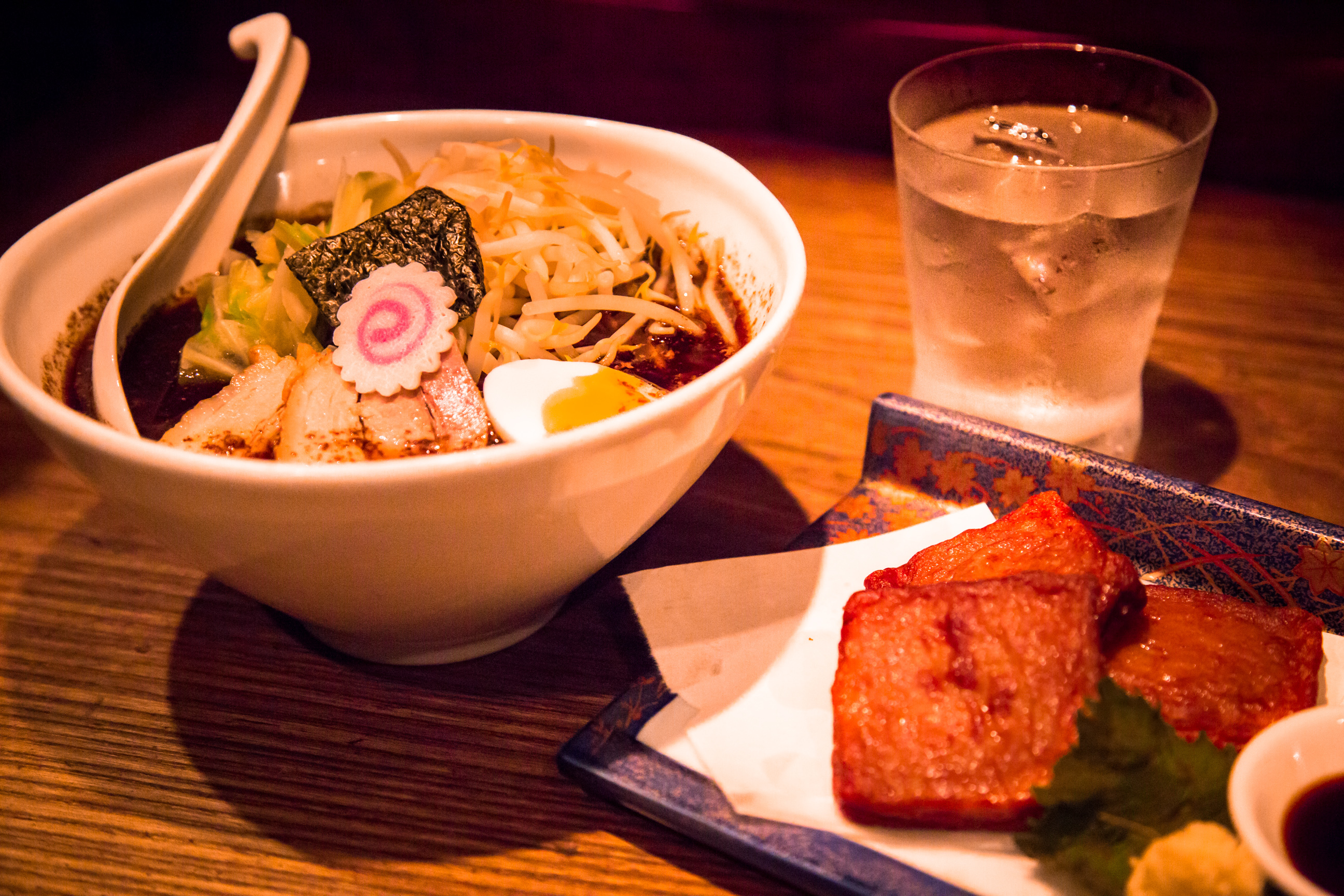 Slurp ramen with cocktails…