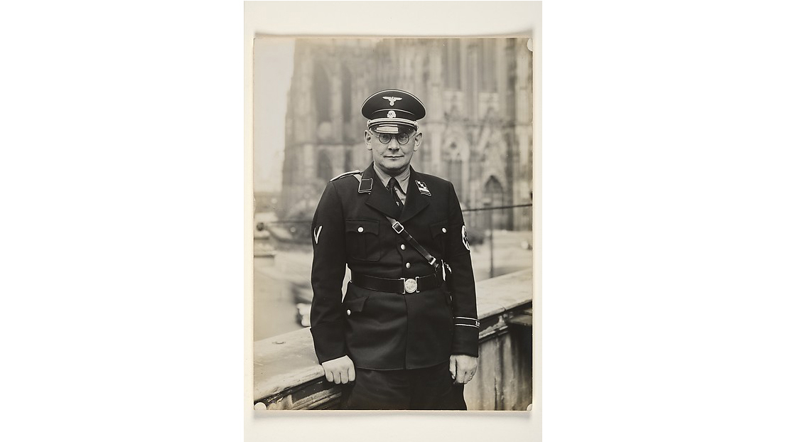 August Sander, SS Captain, 1937