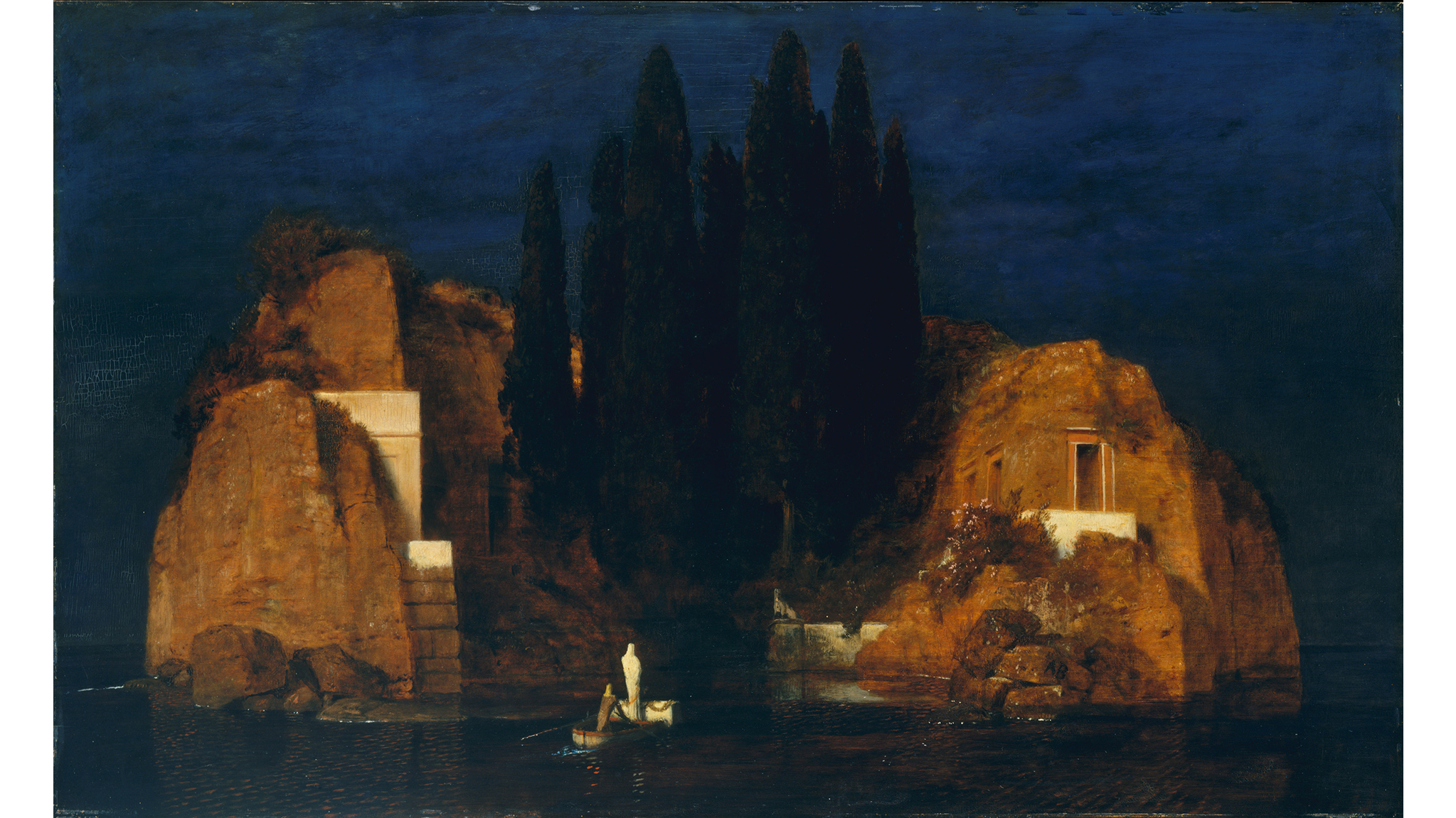 Arnold Böcklin, Island of the Dead,1880