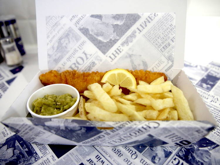 Go for fish and chips at all hours