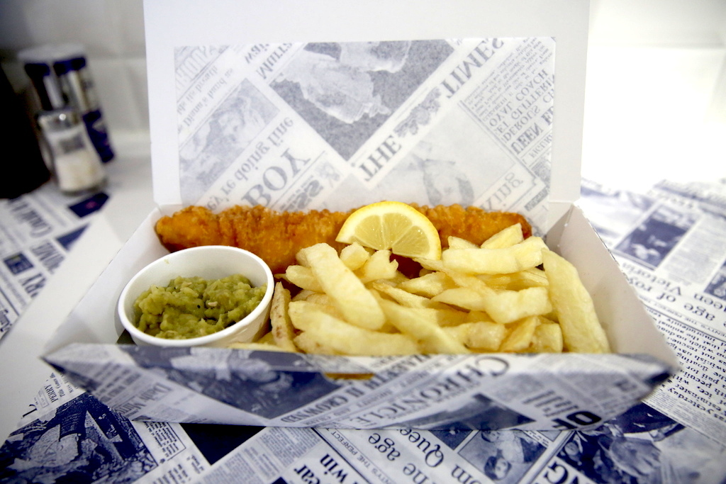 Crispiest all-night fish and chips: Malins