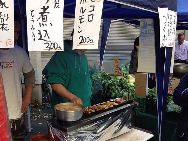Kushi Kushi Battle in Koenji