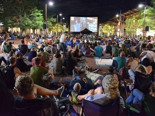 Clips Film Festival brings specialty brews, flicks to Eckhart Park