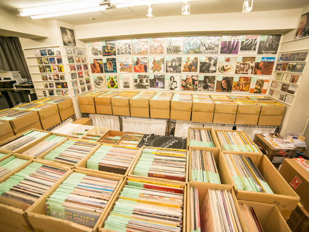 Hi Fi Record Store Shopping In Shibuya Tokyo