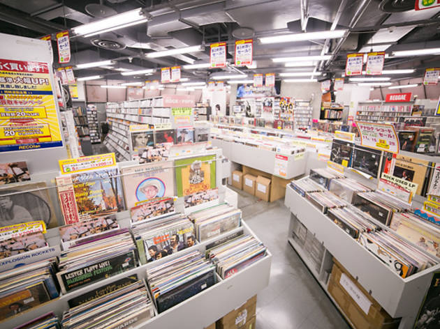 宇田川町:レコファン 渋谷BEAM店