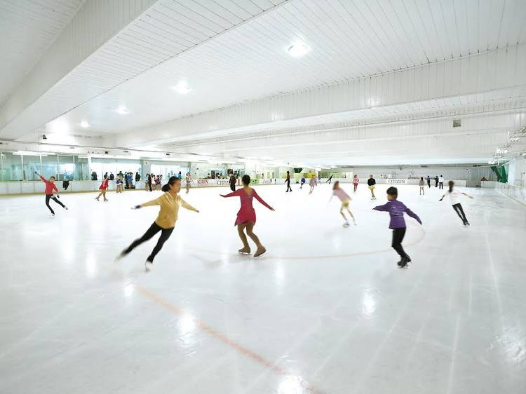 シチズンプラザ アイススケート