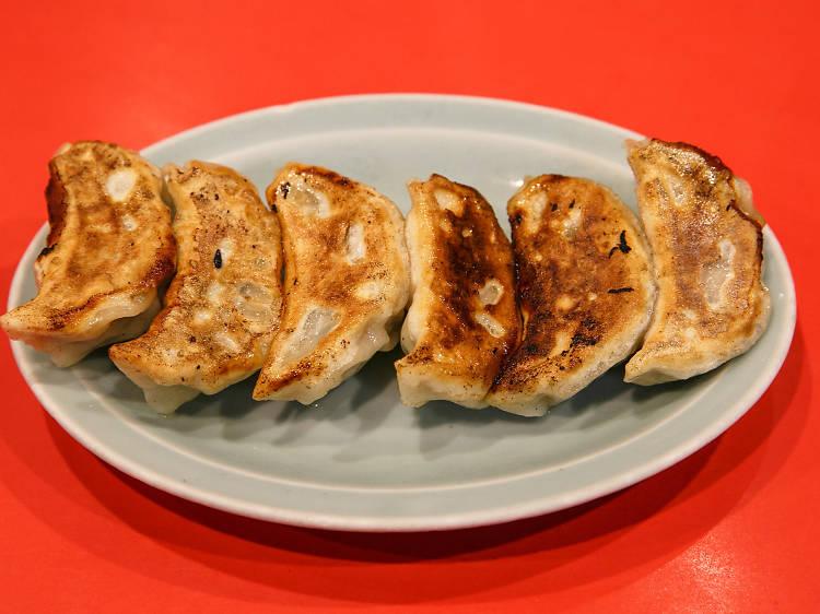 Tuck into authentic dumplings
