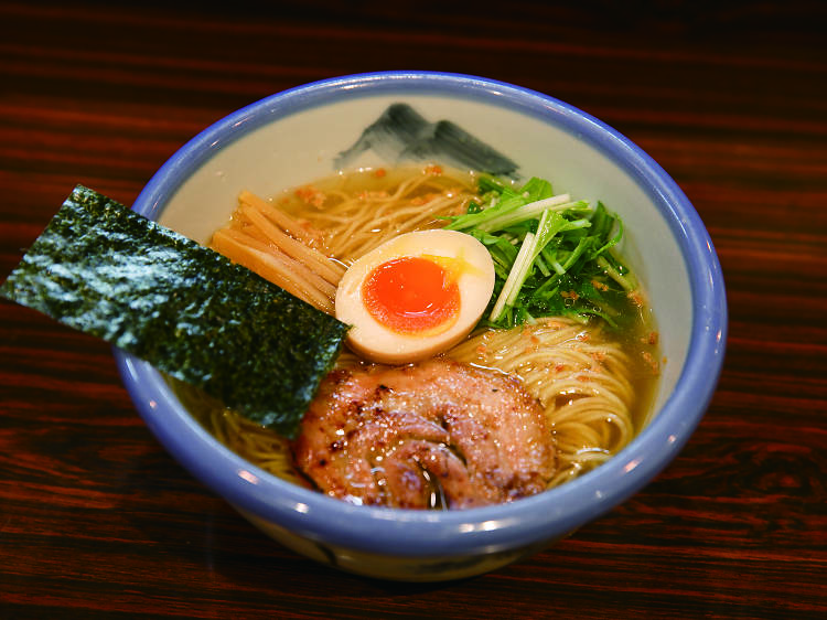 Check out a hip ramen joint