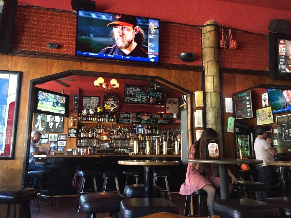 One of San Francisco's best sports bars, Bus Stop