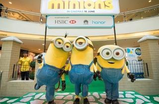 Minion Invasion! at Mid Valley Megamall