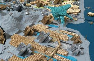 ('Canvey Island – Gold Mine Model' by Nic Clear, Mike Aling, Hyun Jun Park and Simon Withers)