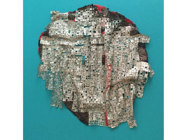 ('Blood of Sweat' by El Anatsui)