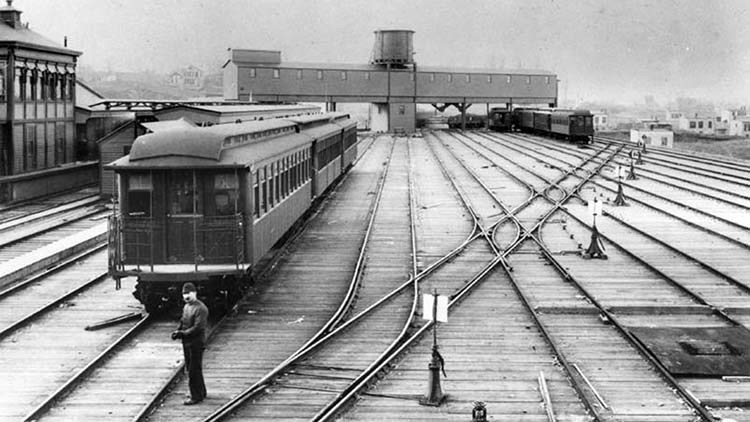 Circa 1890, 36th Street Station and Union Depot