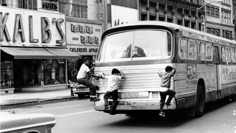 Eddie's Rail Fan Page: Los Angeles Metropolitan Transit ... |Photos Old City Buses 1950