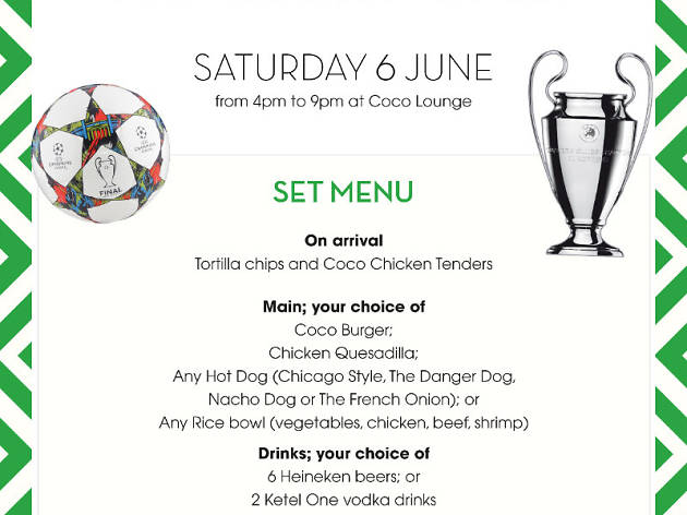 Champions League Final at Coco Lounge