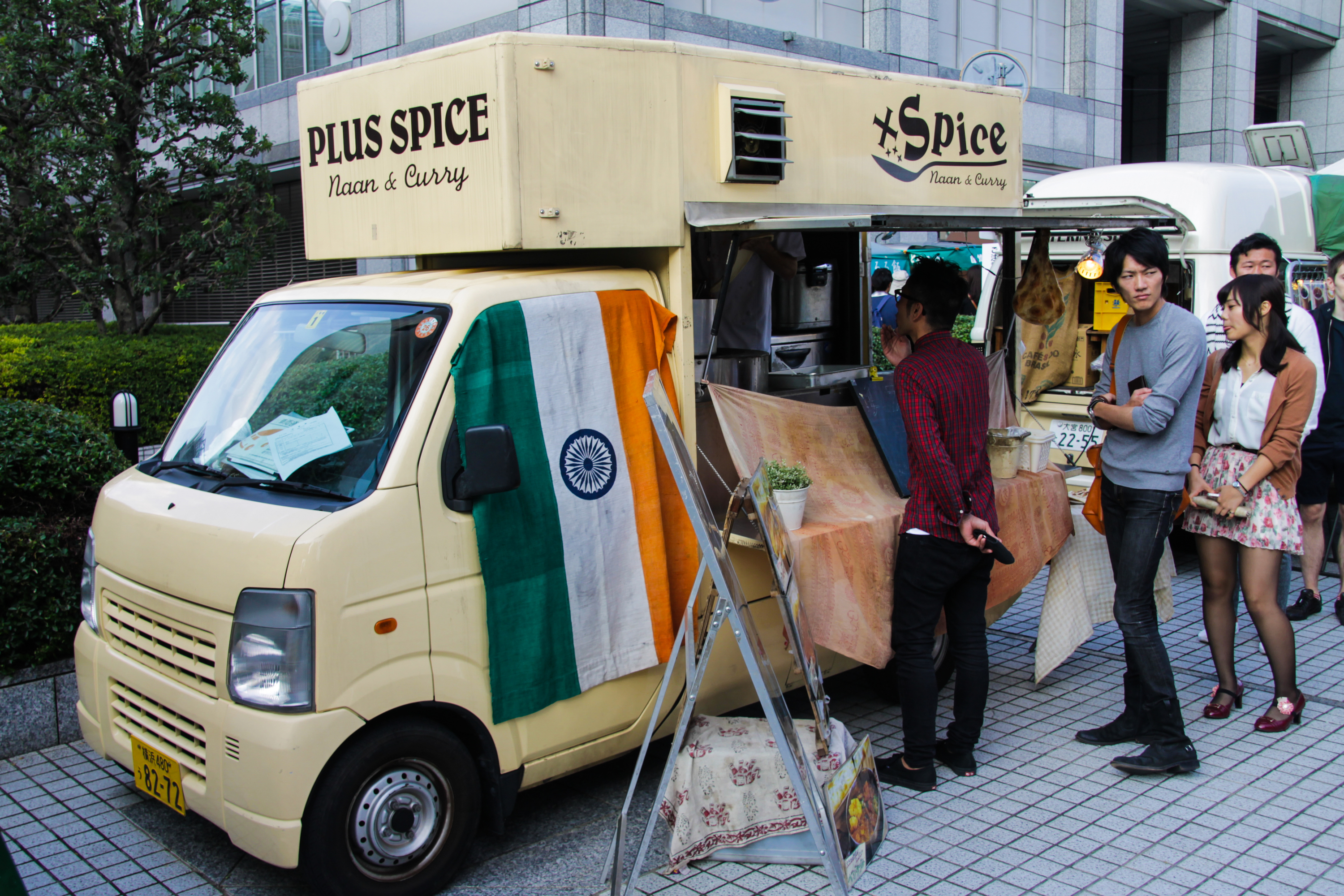 The best food trucks in Tokyo