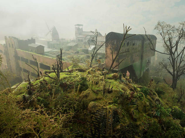 In pictures: A bad-ass model of post-apocalyptic Peckham