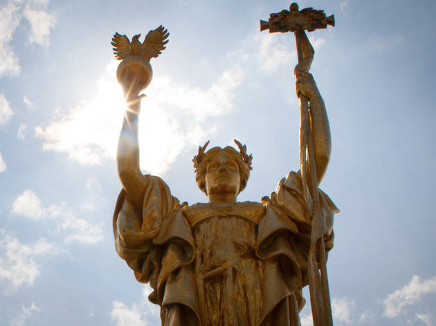 Statue of the Republic in Jackson Park