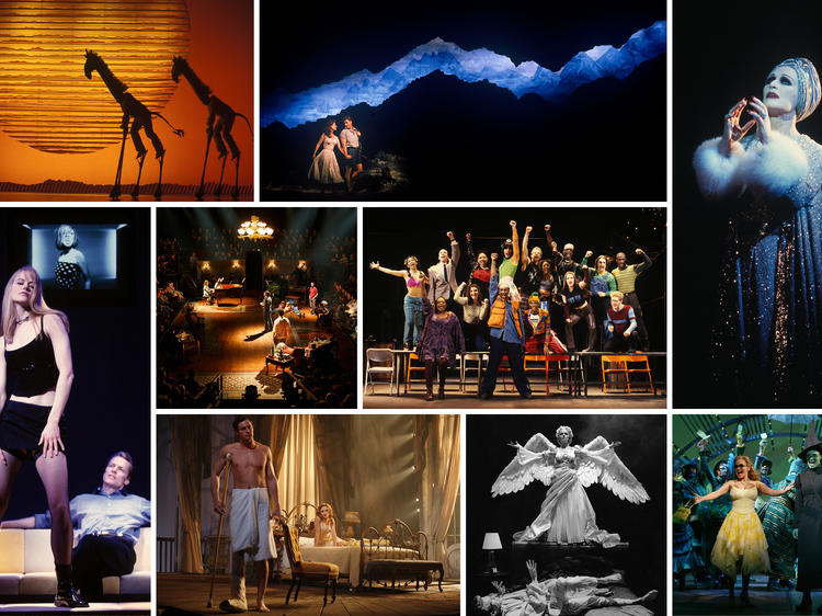 Joan Marcus' photos of classic Broadway shows