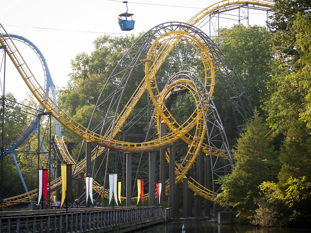 Best amut parks in America for roller coaster and water rides
