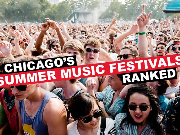 Summer Music Festivals Ranked