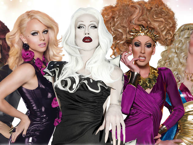 Stars from RuPaul's Drag Race