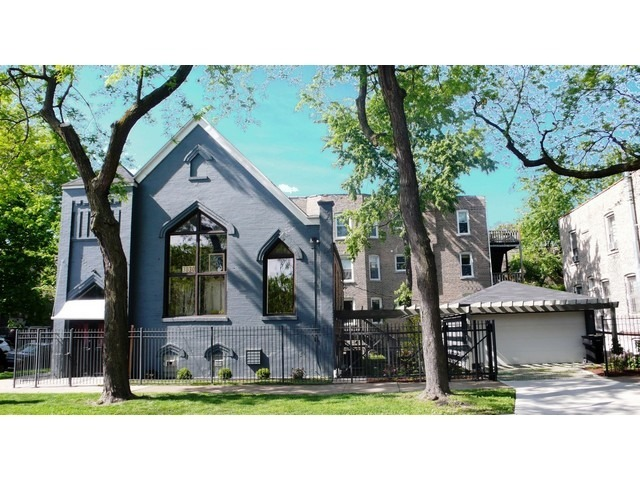 Old church converted to home in Logan Square