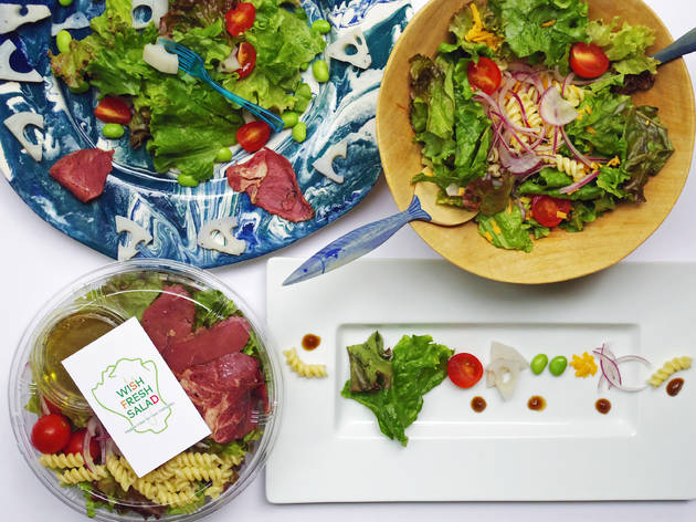 Wish Fresh Salad | Time Out Tokyo