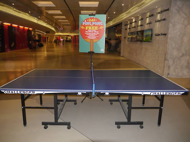 ping pong; avenue k; games