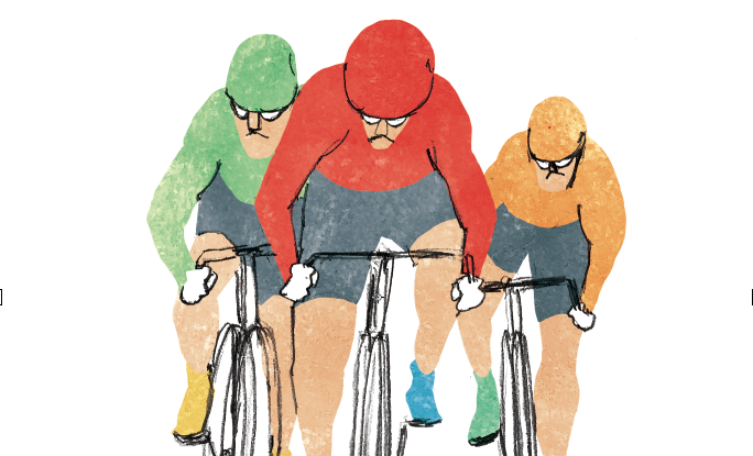 Betting on bicycles: keirin