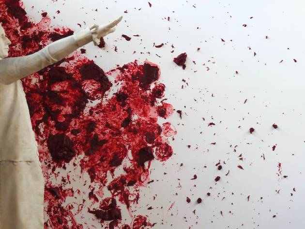 (Anish Kapoor, 'Shooting into the Corner' / Photo : © TB / Time Out)