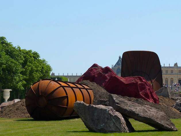 (Anish Kapoor, 'Dirty Corner' / Photo : © TB / Time Out)